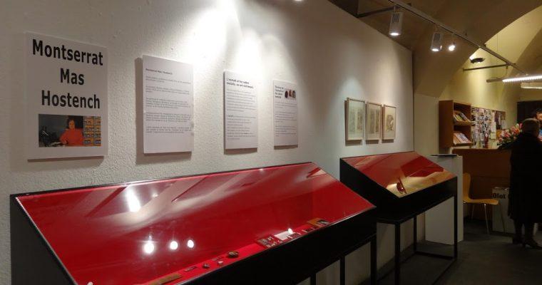 Montserrat Mas d'Olot, retrospectiva d'esmalts a la Casa Trinxeria