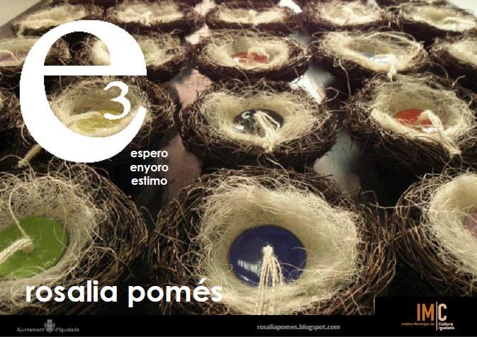 """Nova exposició """"e3"""" a Igualada (Rosalia Pomés)"""