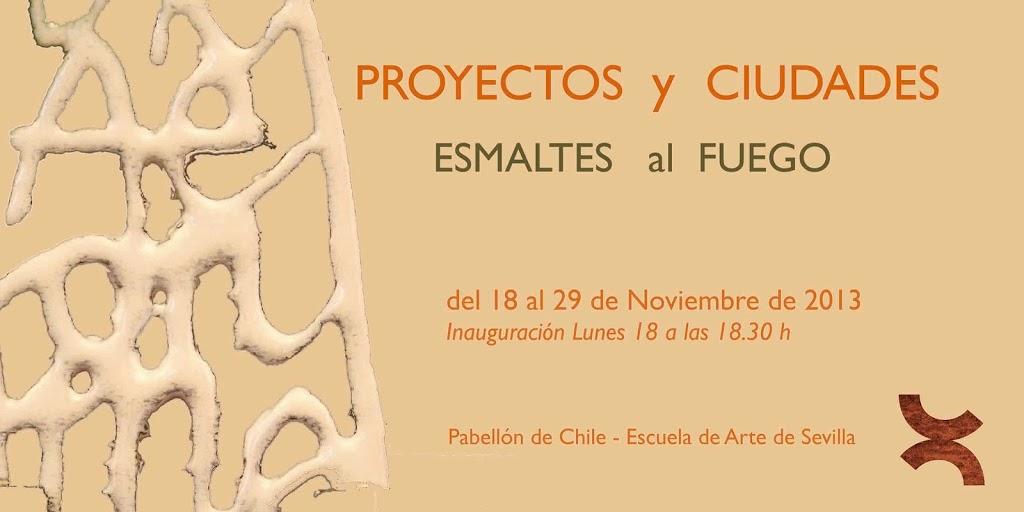 Exposició d'esmalt a Sevilla, Alumnes de l'escola d'Art