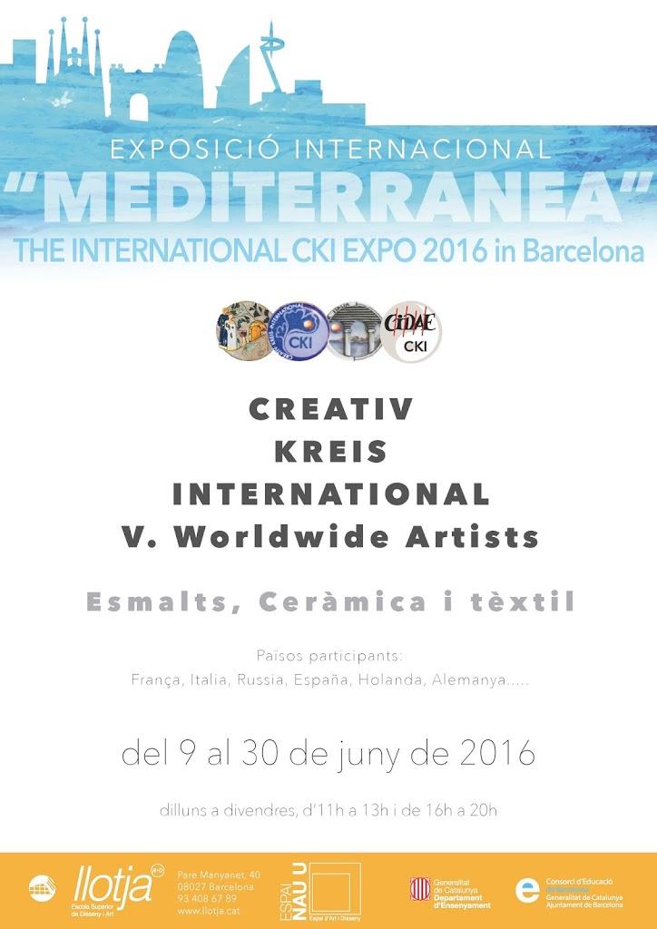 Exposició Internacional CKI Barcelona 2016