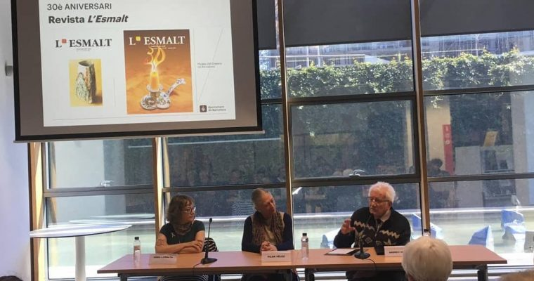 Celebració 30 Anys de la revista L' Esmalt